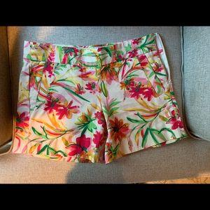 EUC J Crew Tropical Shorts